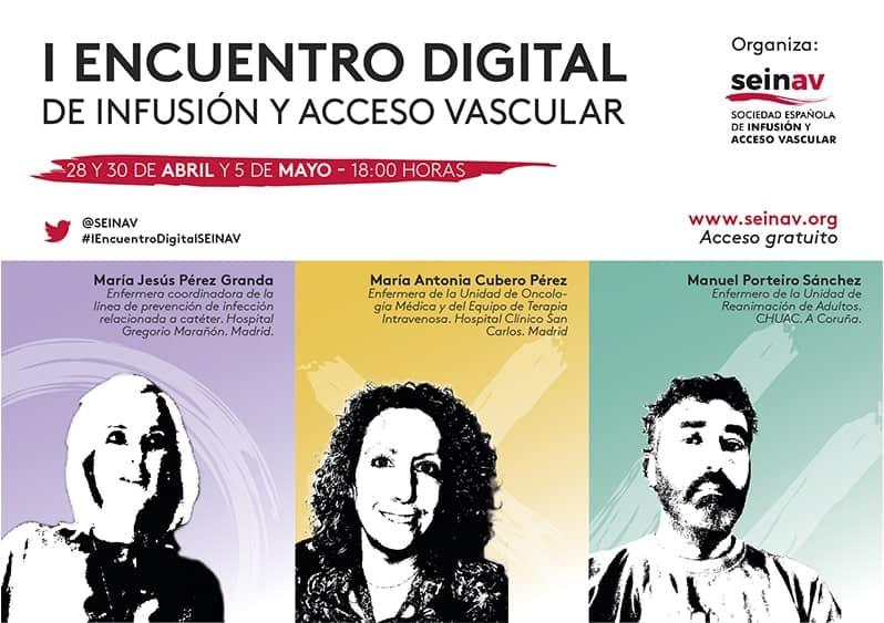 I ENCUENTRO DIGITAL DE INFUSIÓN Y ACCESO VASCULAR